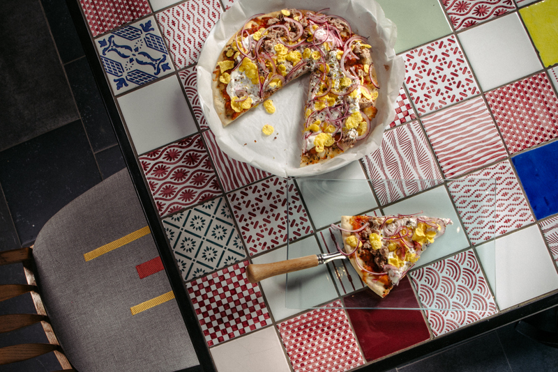Pizza-Margherita-cu-ton-si-iaurt