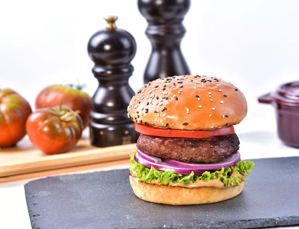 Balsamic mayo Angus burger