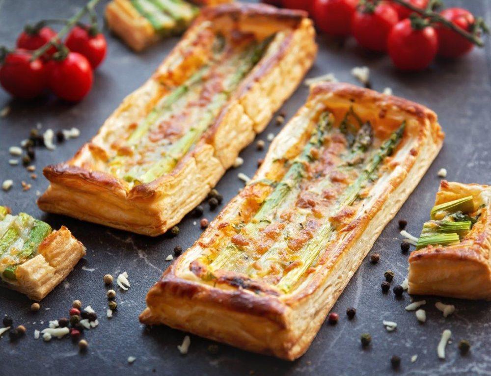 Mini tarte cu sparanghel – reteta