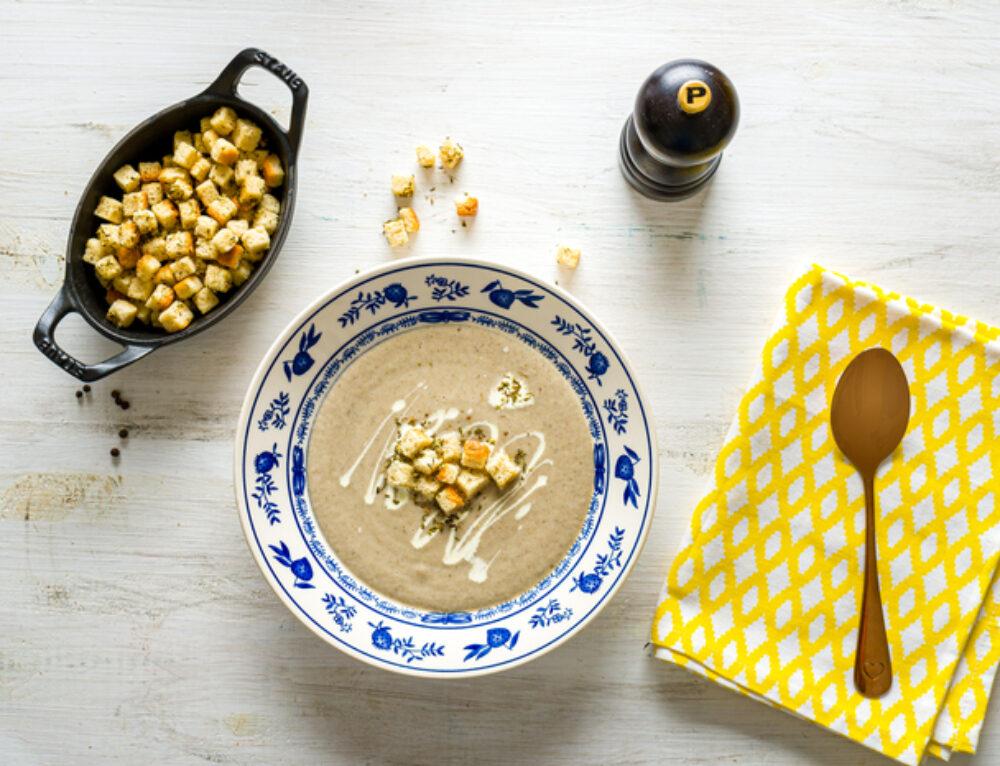 Supa crema de ciuperci – reteta